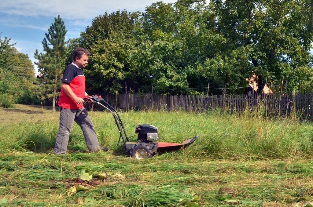 Сенокосилка для высокой травы своими руками 33